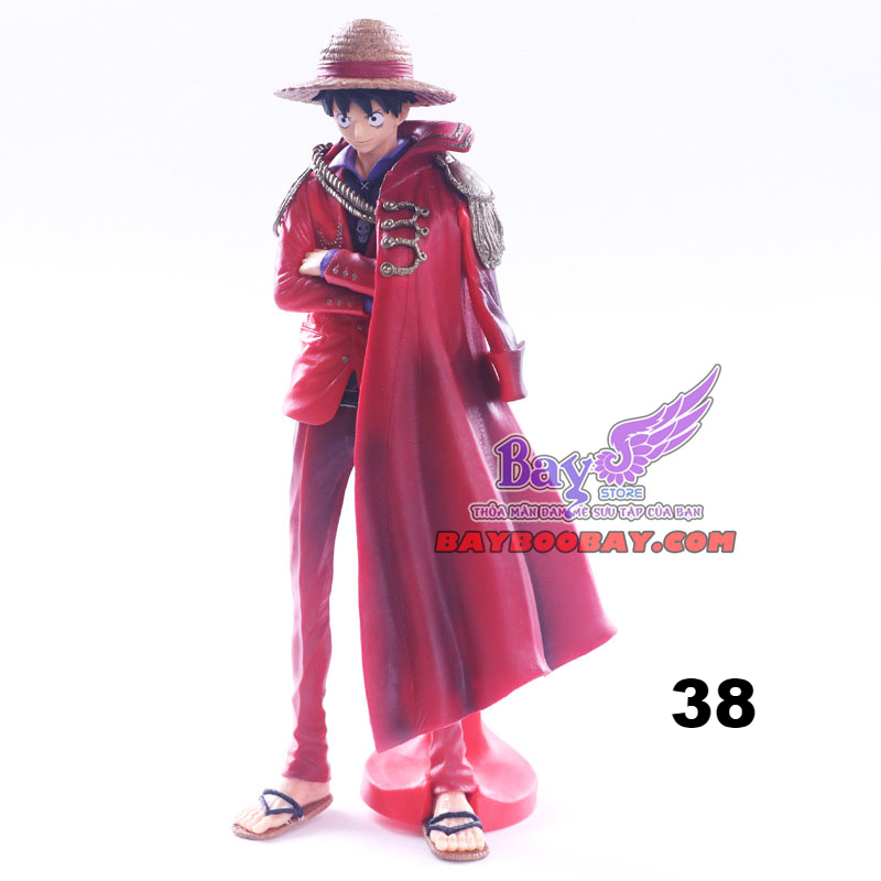 ✅Figure Luffy Áo choàng đỏ - One Piece