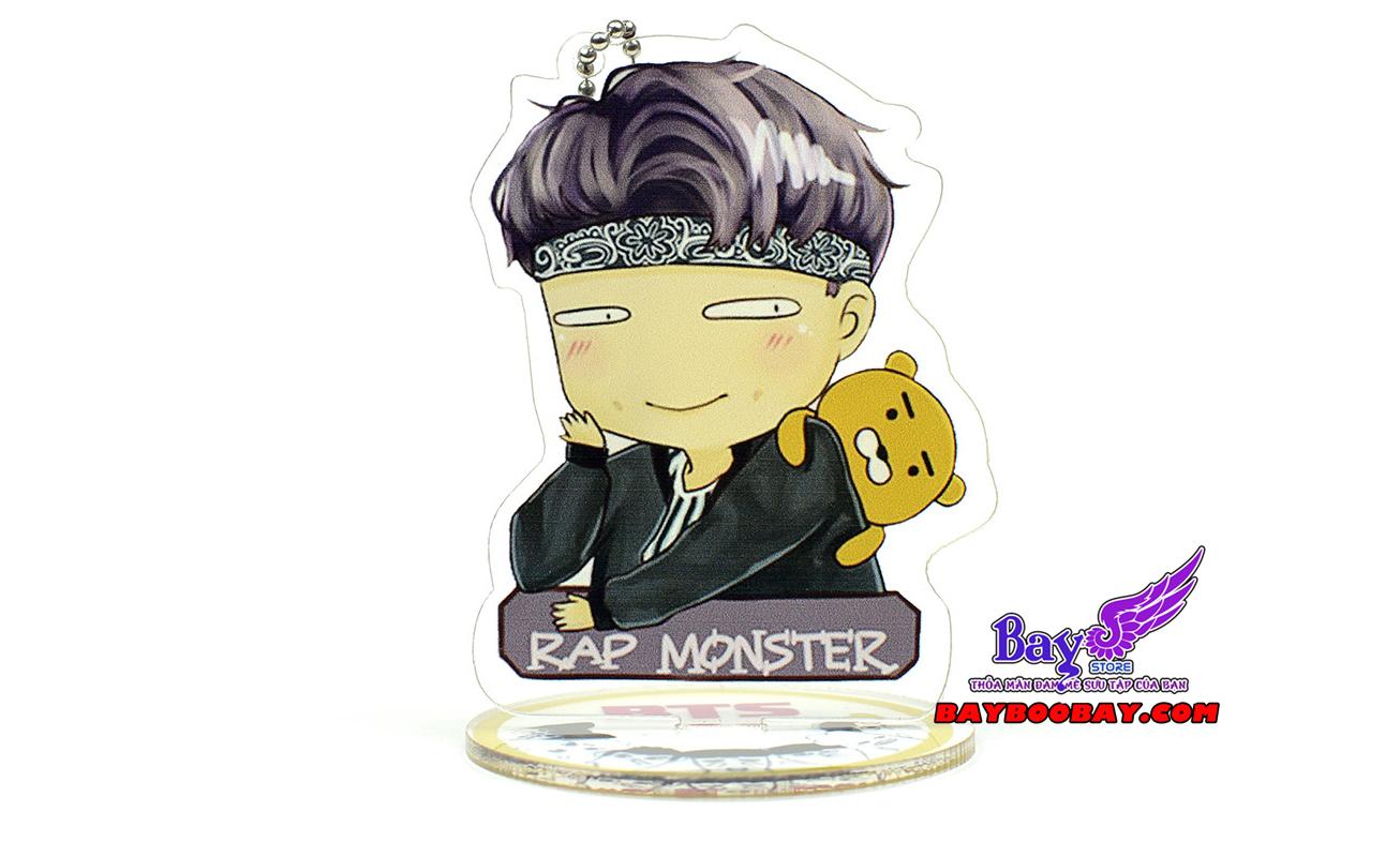 ✅Standee để bàn BTS - Rap Monster