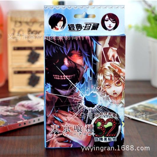 Dán hộp 32 tấm anime
