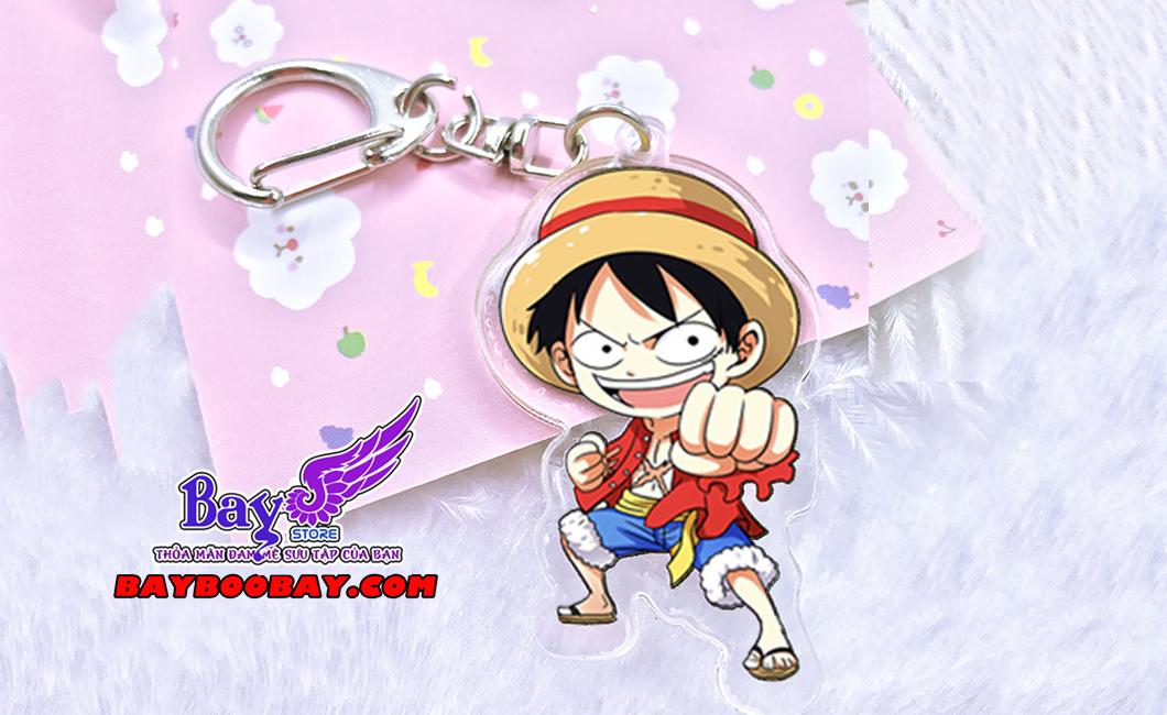 ✅Móc khóa Luffy