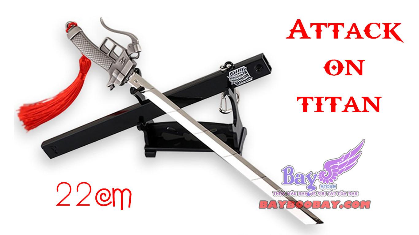 ✅Kiếm Attack on Titan 22cm