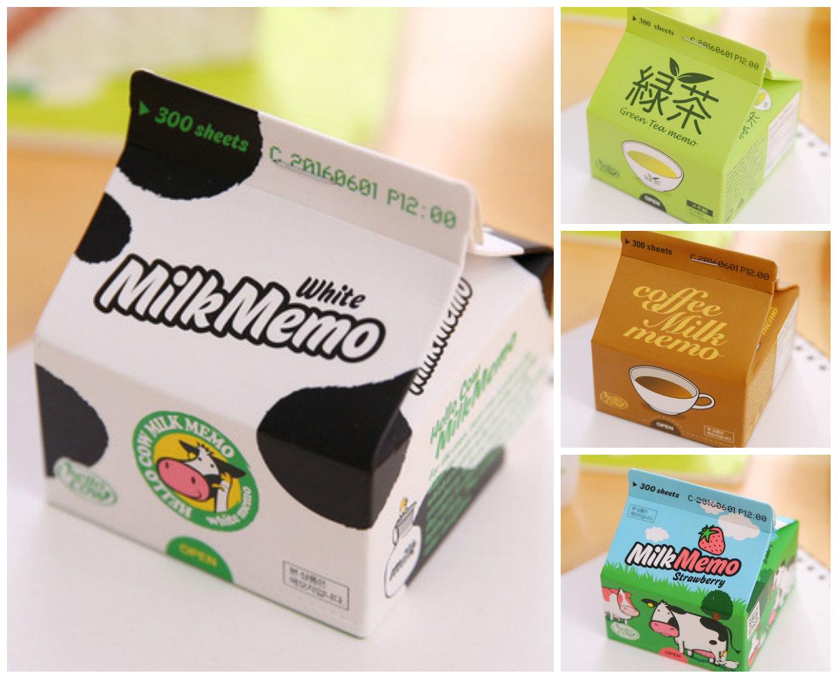 Giấy ghi chú hộp sữa