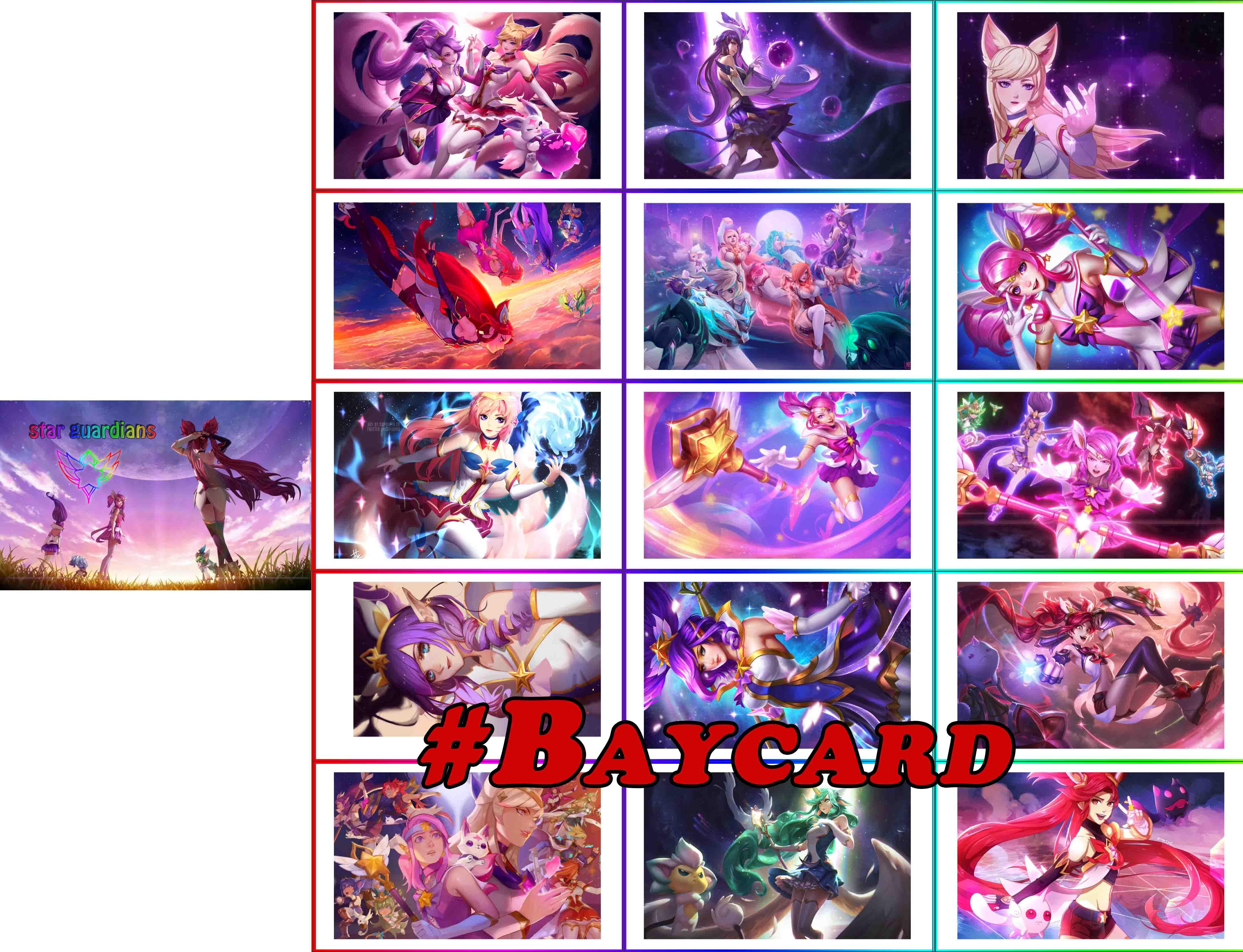 Liên minh huyền thoại - baycard đa dạng
