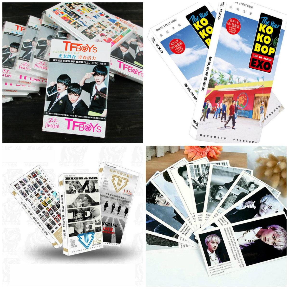 Postcard thần tượng 60 tấm
