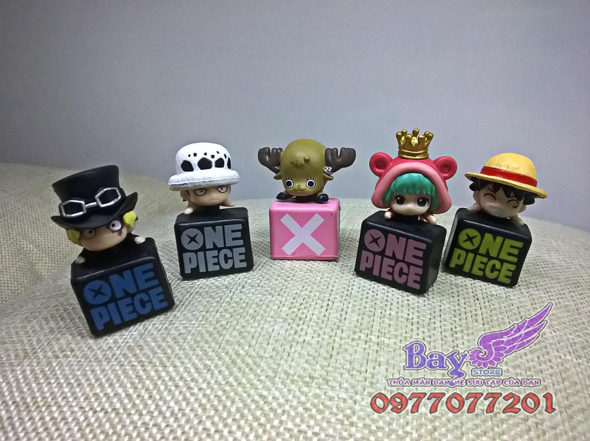 Gắn đầu điện thoại One Piece