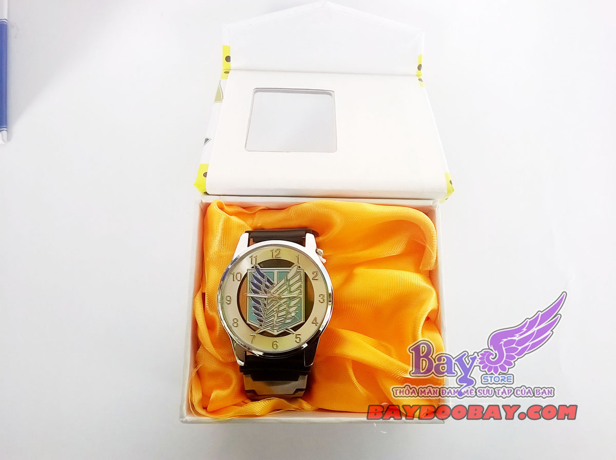 đồng hồ đeo tay attack of titan