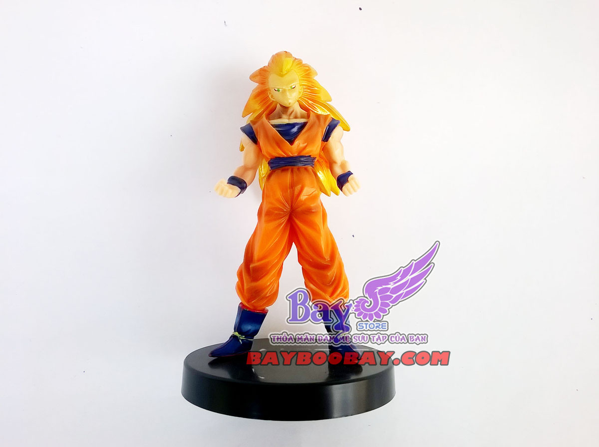 figure trunks, vegeta, goku, broly - dragon ball