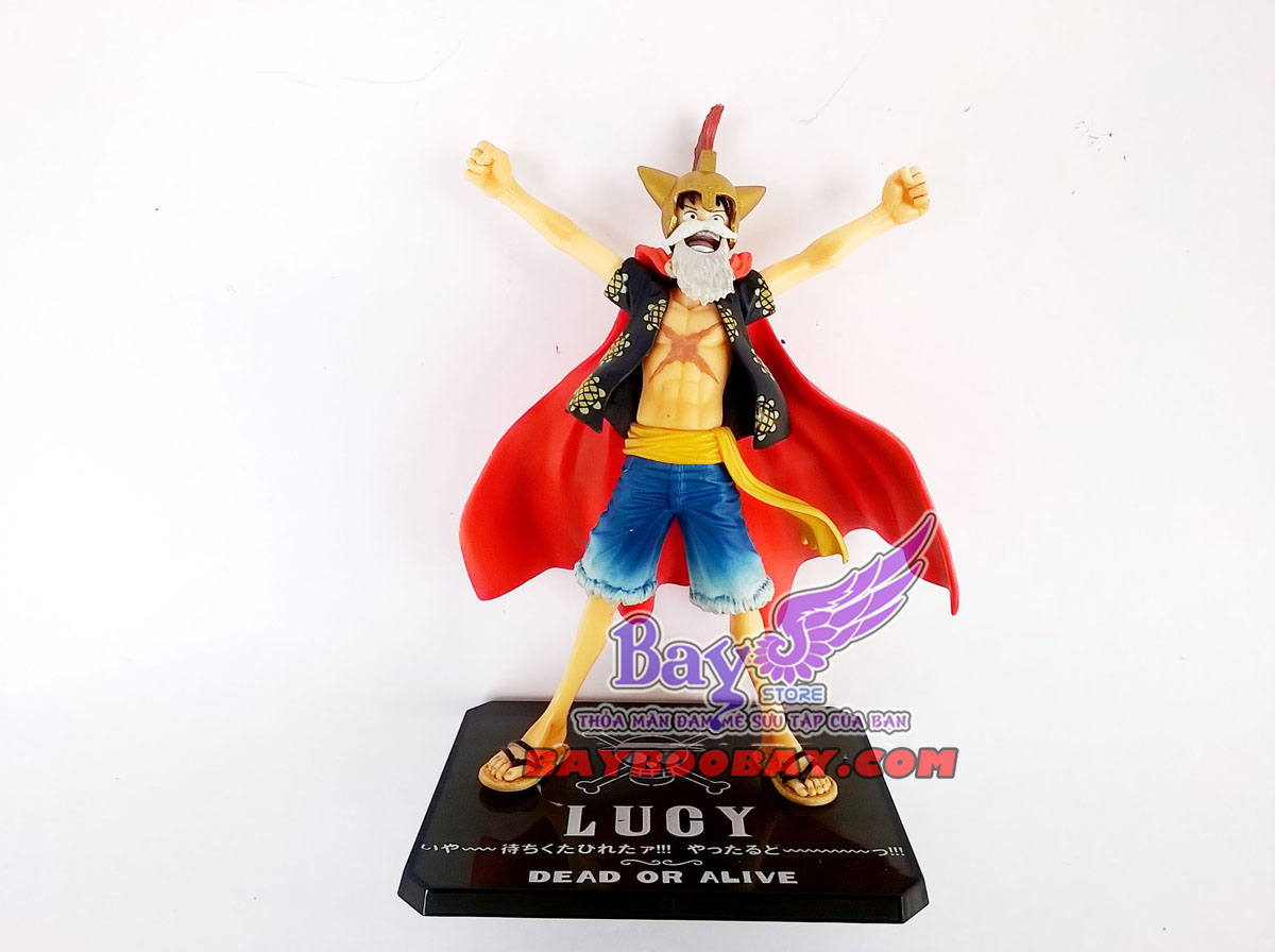 figure luffy (lucy)- one piece