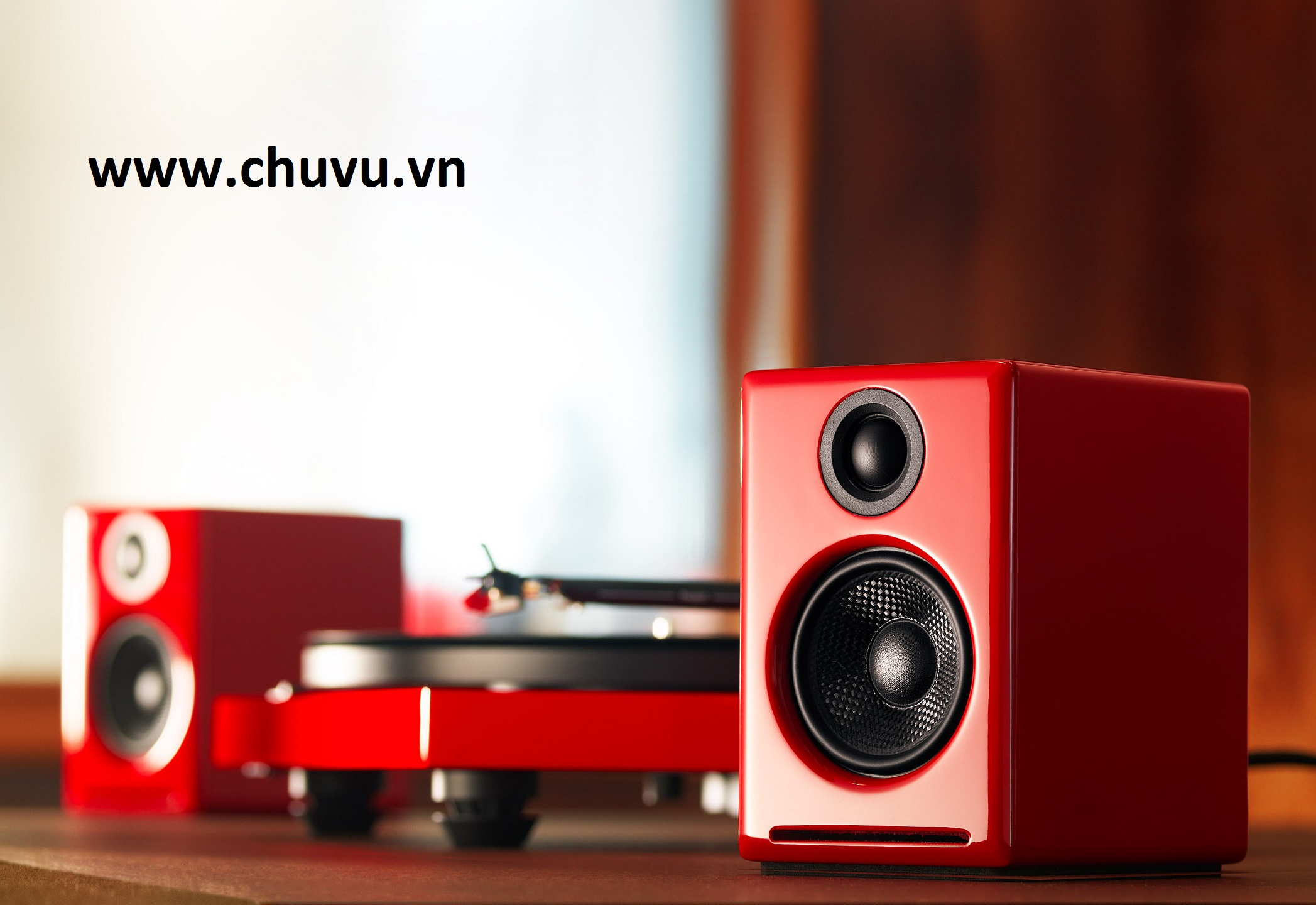 Loa Audioengine A2+ (Red)