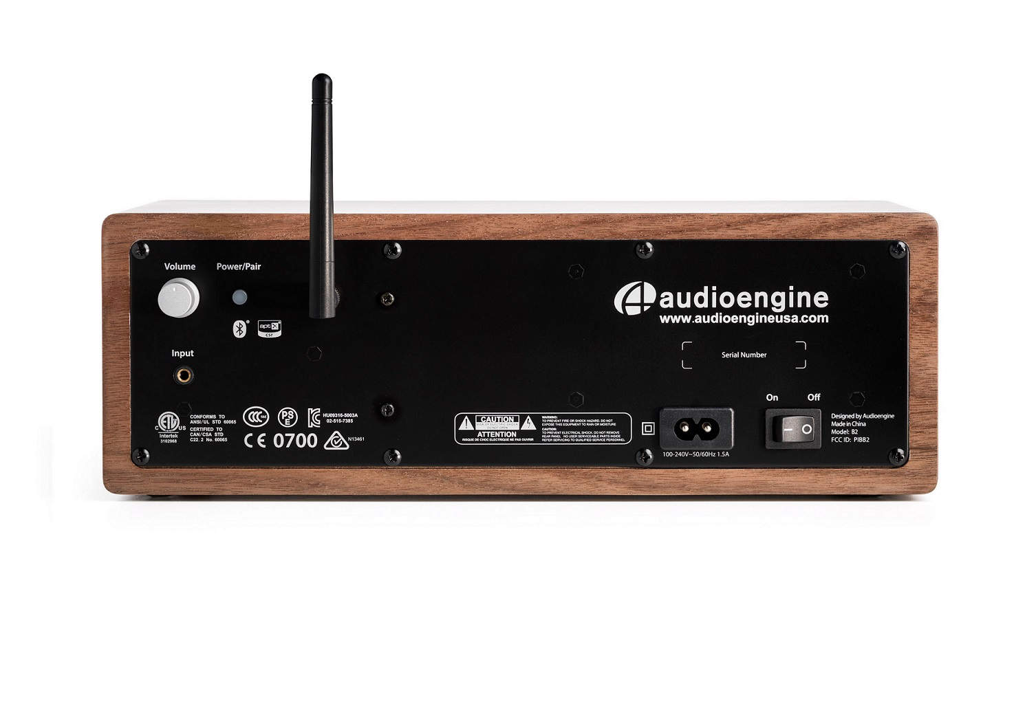 Loa  Bluetooth Audioengine B2  (Nâu)