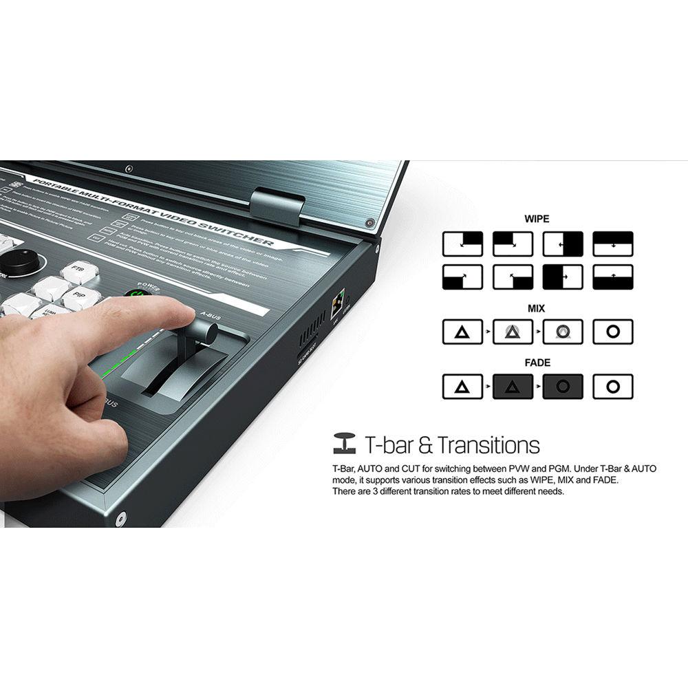Bàn trộn Video AVMatrix PVS0615