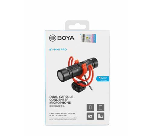 Micro thu âm  Boya BY-MM1 Pro