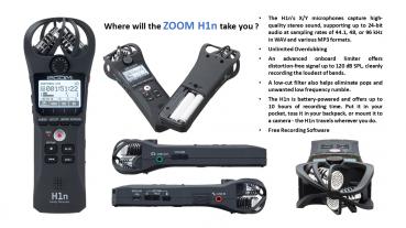 Zoom Handy Recorder H1n