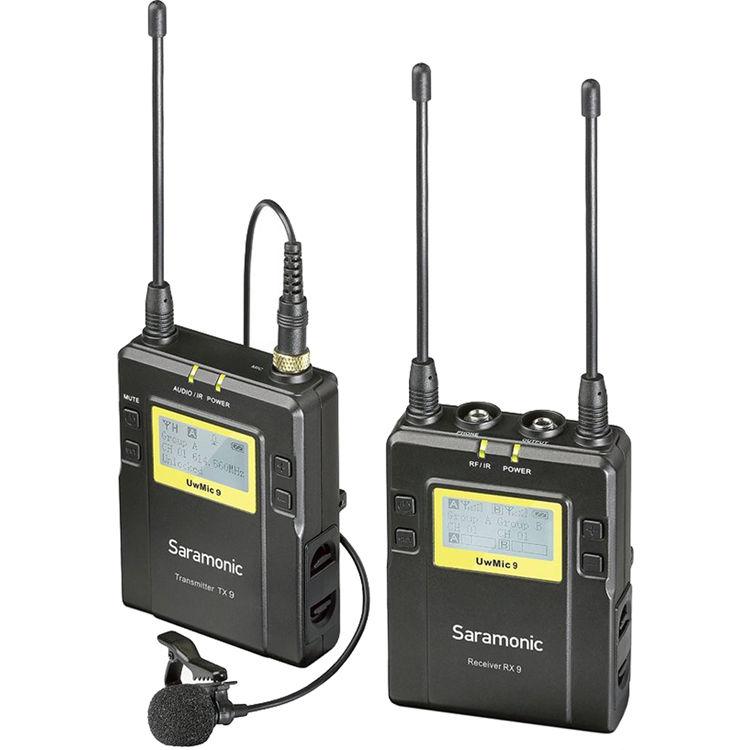 Micro saramonic UWMIC 9 Kit1 (tx9+rx9)