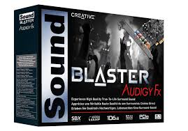Card âm thanh Creative Sound Blaster Audigy FX