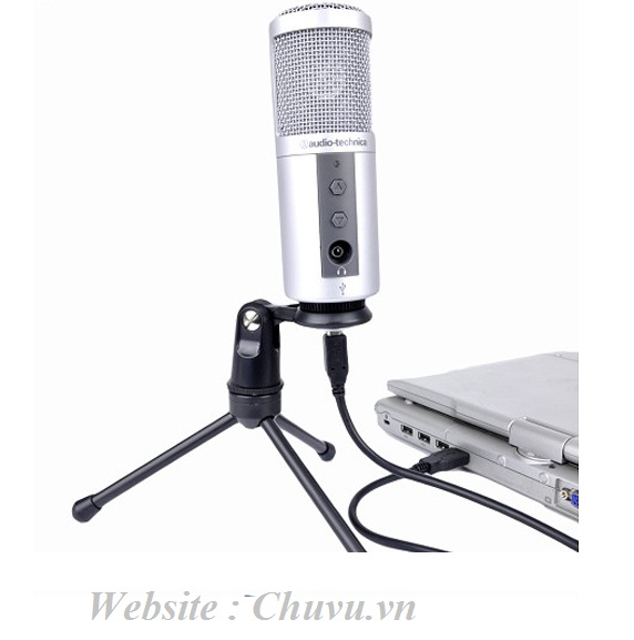 Micro thu âm Audio-technica ATR2500-USB