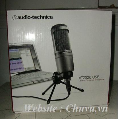 Micro thu âm Audio Teachnica 2020 USB