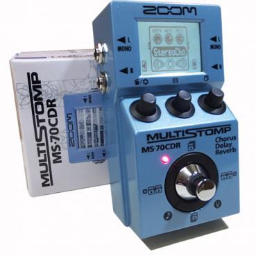 Zoom MultiStomp Chorus Delay Reverb Pedal MS-70CDR