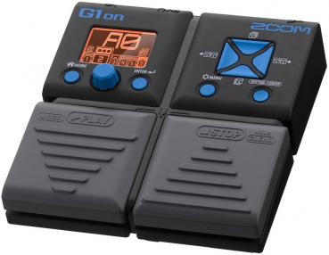 Zoom Guitar Multi FX pedal G1on