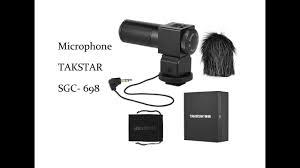 Micro phỏng vấn Takstar SGC-698
