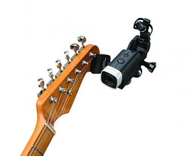 Zoom GHM-1 Guitar Headstock Mount for Action Cameras
