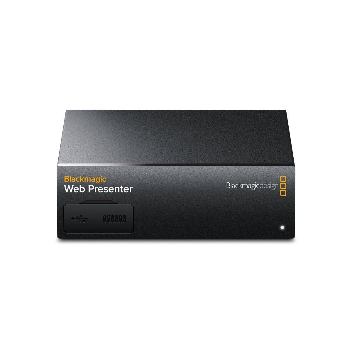 Blackmagic Web Presenter + Teranex mini smart Panel