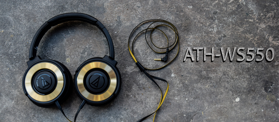 Tai nghe Audio Technica ATH-WS550iS