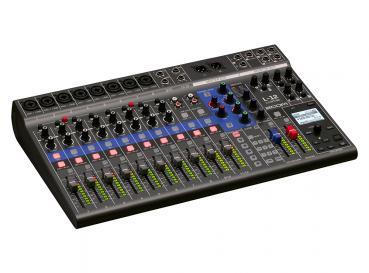 ZOOM Mixer / Multitrack Recorder / Interface / Controller LIVETRAK L‑12