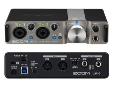 Zoom USB 3.0 Midi Audio Interface UAC-2