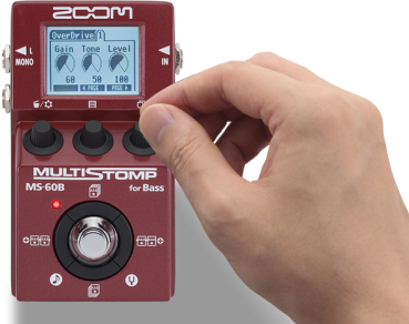 Zoom Multistomp Bass Effects Pedal MS-60B