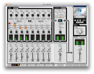 Zoom 18x20 Thunderbolt Audio Interface TAC-8