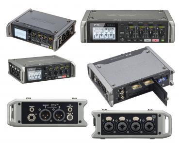 Zoom MultiTrack Field Recorder F4