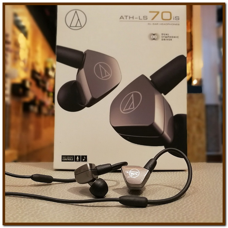 Tai nghe Audio-Technica ATH-LS70iS