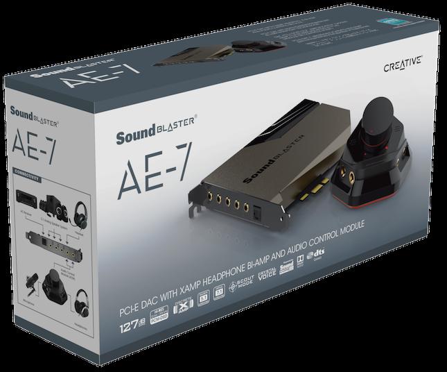 Card âm thanh Creative Sound BlasterX AE-7