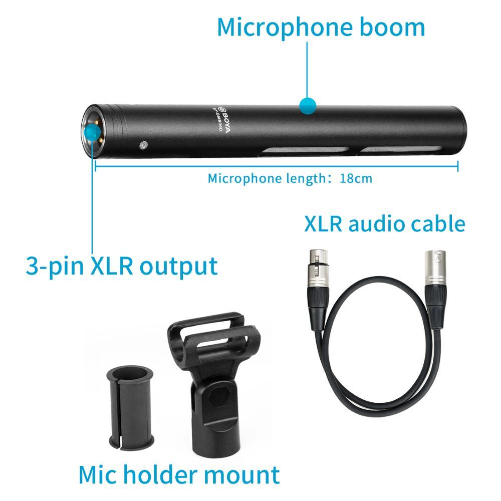 MICROPHONE BOYA BY-BM6040