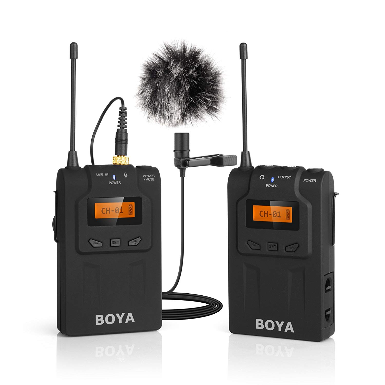 Microphone gài áo không dây Boya BY-WM6