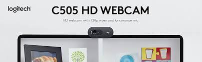 Webcam Logitech C505e- Hàng chính hãng