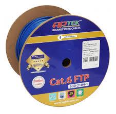 Cáp mạng APTEK Cat.6 FTP( Thùng 305m)- Hàng chính hãng