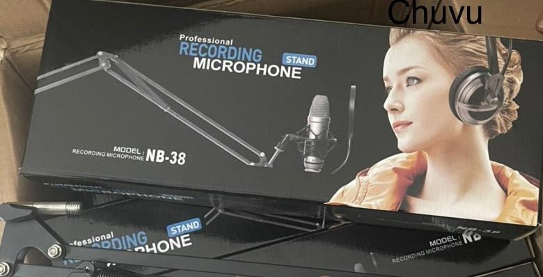Chân Micro kẹp bàn NB38