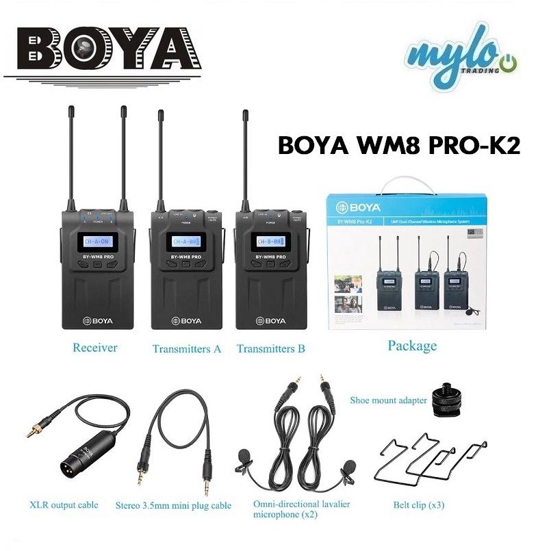Micro không dây Boya BY-WM8 Pro-K2