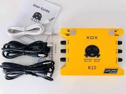 Card âm thanh XOX K10 phiên bản mới 2020