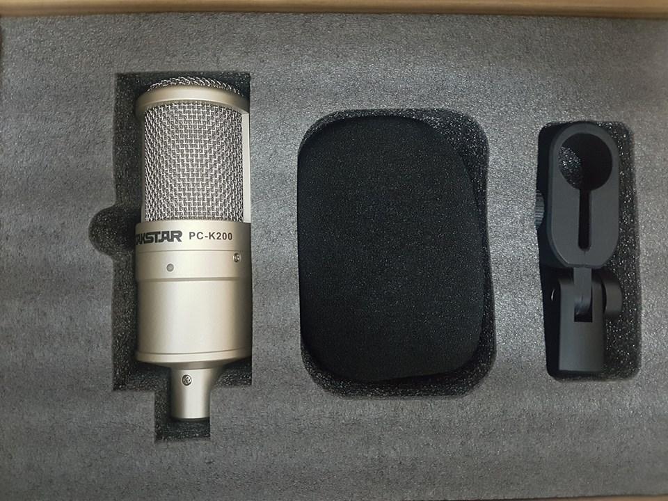 Micro thu âm TAKSTAR PC K200 Mic