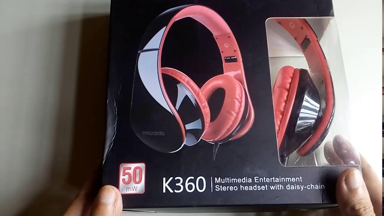 Tai Nghe Microlab K360