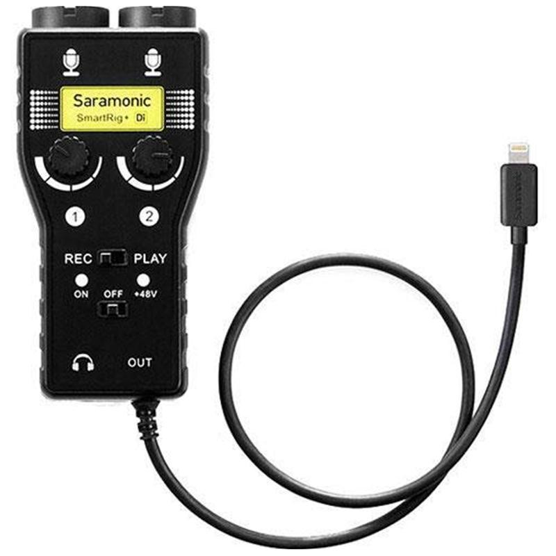 bộ chuyển đổi micro cho điện thoại saramonic smartrig + di