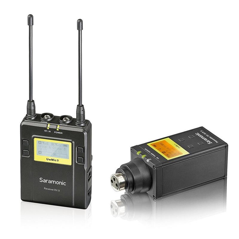 microphone saramonic UWMIC9 rx9+tx-xlr9