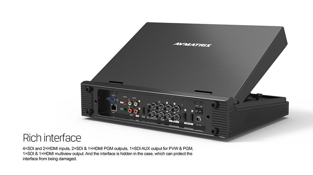 Bàn trộn Video AVMatrix PVS 0613
