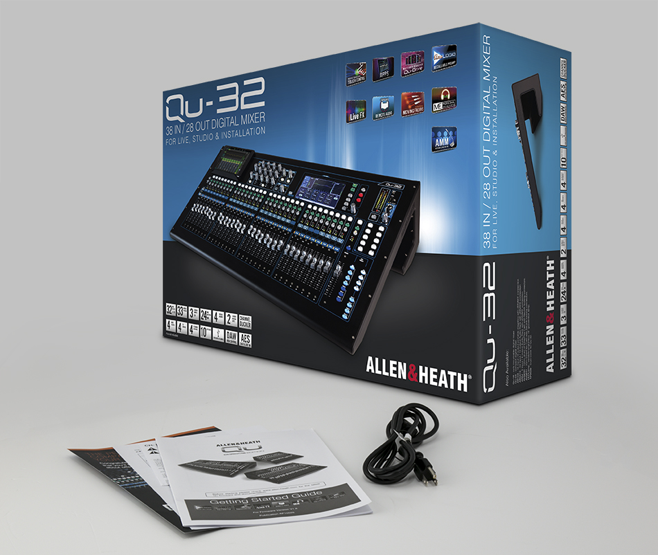 Mixer Allen  Heath QU-32