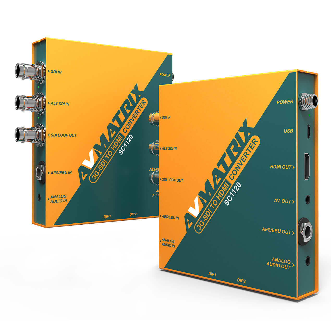 Bộ Converter 3G-SDI to HDMI & AV  Avmatrix  SC1120