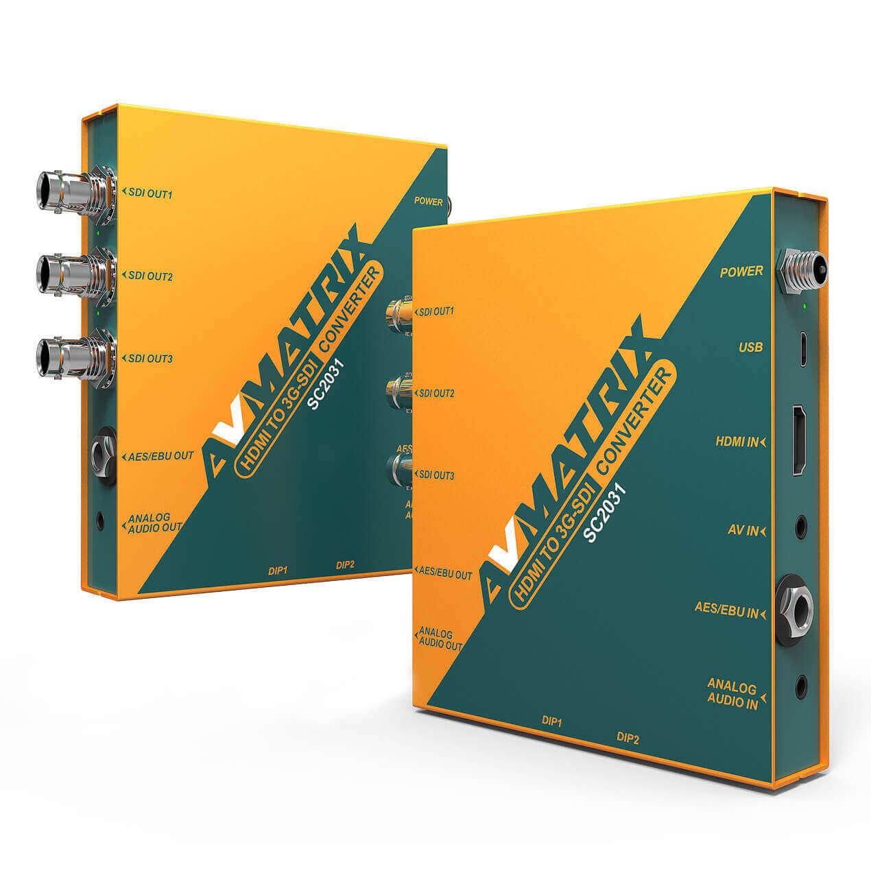 Bộ Converter HDMI  3G-SDI  Avmatrix  SC2031