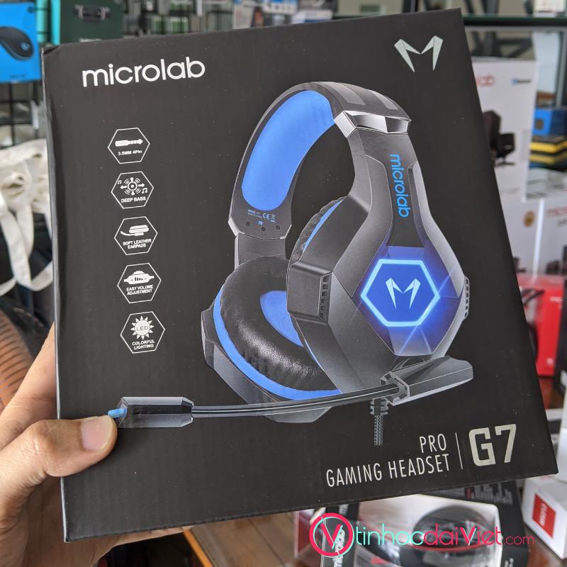 Tai Nghe Microlab G7 (Headphone Gaming)